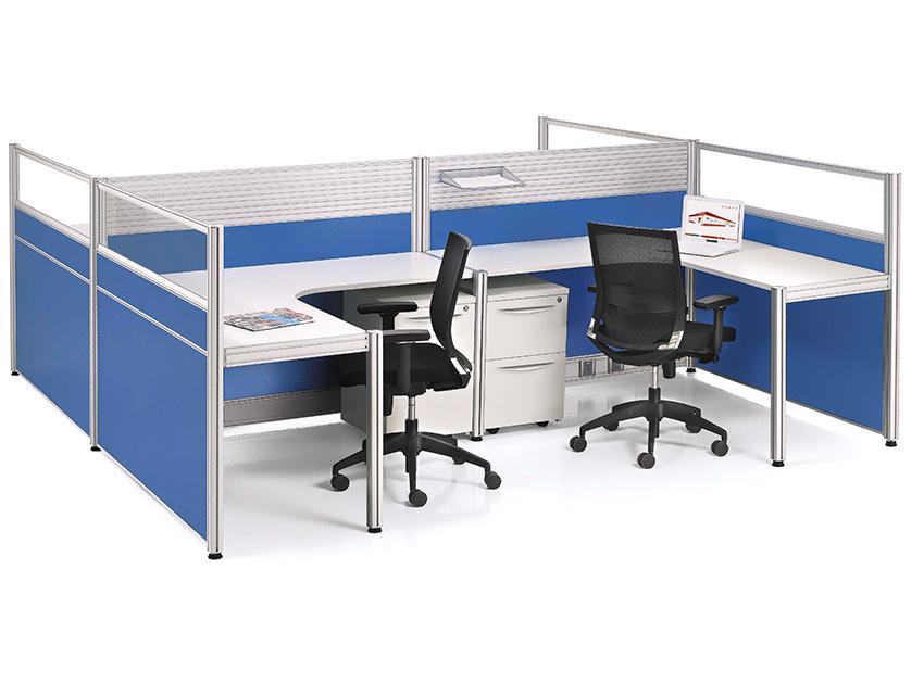 Integra escritorio modular vivant for Escritorios modulares para oficina